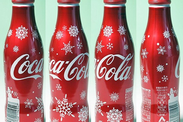 Special Xmas Coke Bottles For Japan