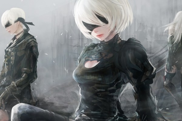Nier Automata Statue Unveiled At TGS