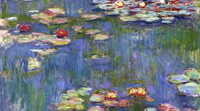Cheesecake Draws Inspiration From Monet