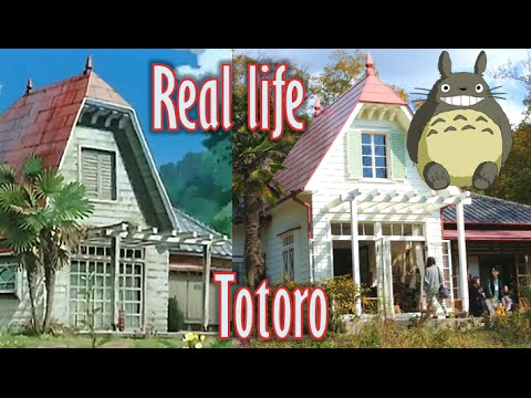 Satsuki and Mei's house from My Neighbor Totoro exists in Aichi