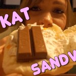 Kit Kat Sandwich by First Kitchen in Japan