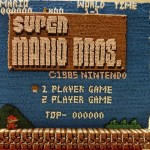 Japanese Artist created Super Mario Bros. Screenshot with 14,000 Toothpicks