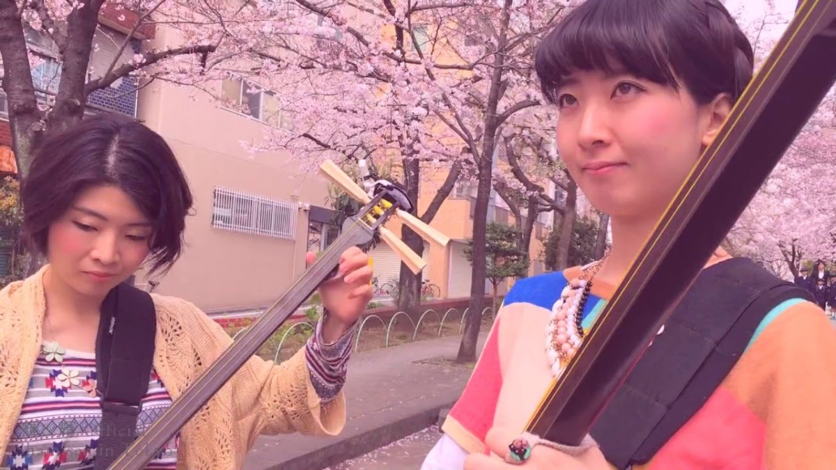 Japanese Shamisen girls band, KIKI