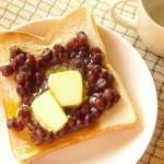 Ogura Toast with Ogura An