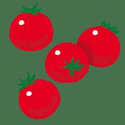 ツヤツヤなトマト