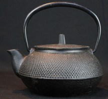 Vintage Tetsubin Japanese Iron Kettle 1900s Japan