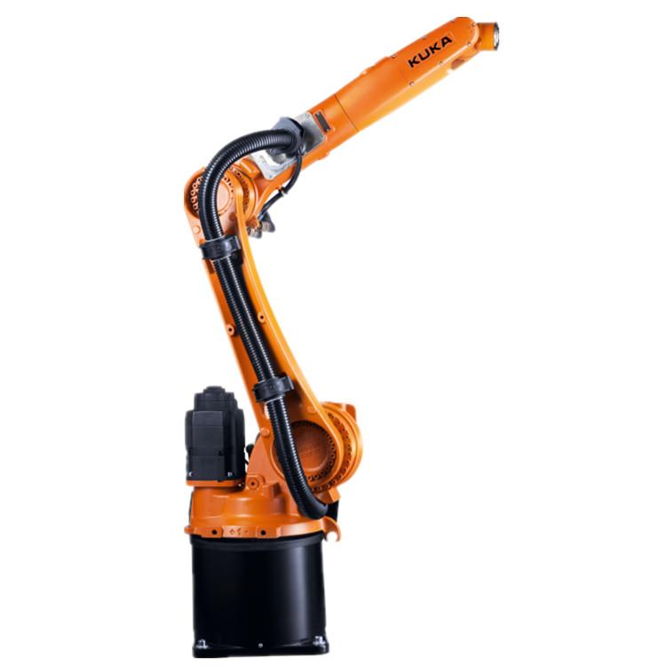 床の天井の土臺位置の産業6つの軸線のKukaのロボット腕