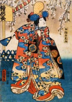 Shūka Bandō I as Shirabyōshi Hanako
