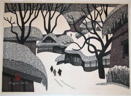 Winter in Aizu 1969