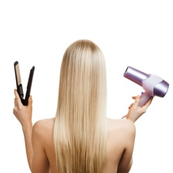 permanently straighten hair