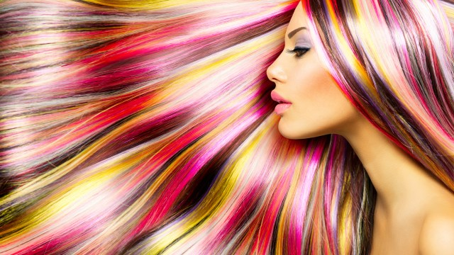hair coloring, japanese hair straightening, colored hair