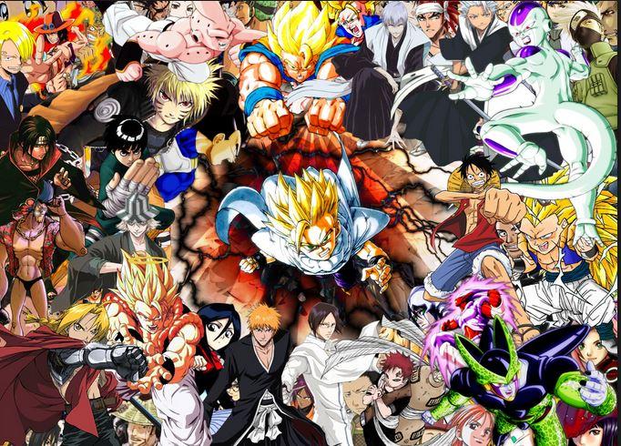 Image result for anime shonen
