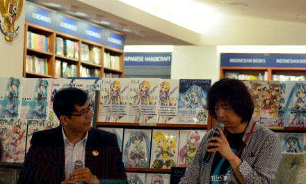 [Liputan] Press Conference 'HATSUNE MIKU EXPO in Indonesia 2014'