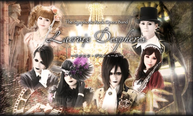 "[Band] The Symphonic Rock Opera Band ""Lacroix Despheres"" from Japan"