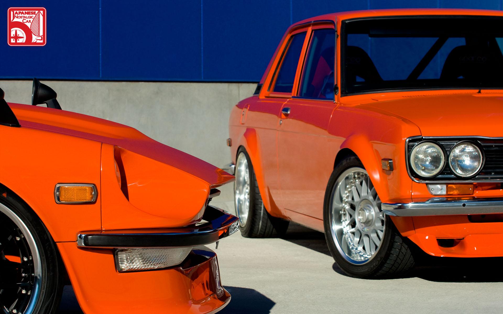 Car Wallpaper 240z Wednesday Wall Original Feature Datsun 240z Amp 510