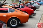 A row of Nissan S30 Z-cars