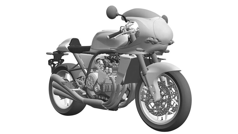 medium resolution of with kawasaki s recent debut of a k1 inspired retro motorcycle honda is not about to neglect its own rich two wheeled history
