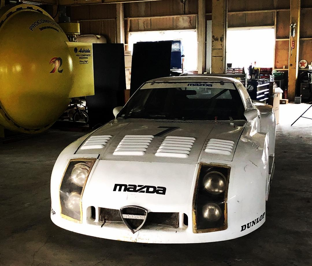 hight resolution of motorsport long lost mazda rx 7 le mans racer rediscovered after 35 sa 22 rx7 rotary engine diagram