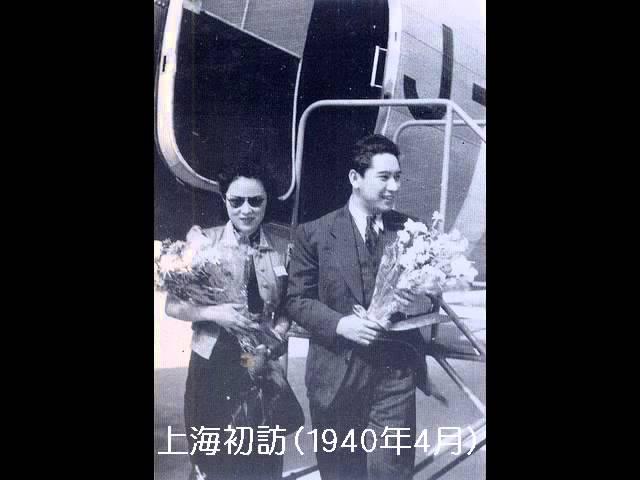 FULL lyric and english translation of 青い月の夜に - 李香蘭