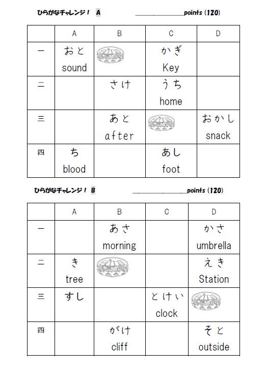 Writing Hiragana