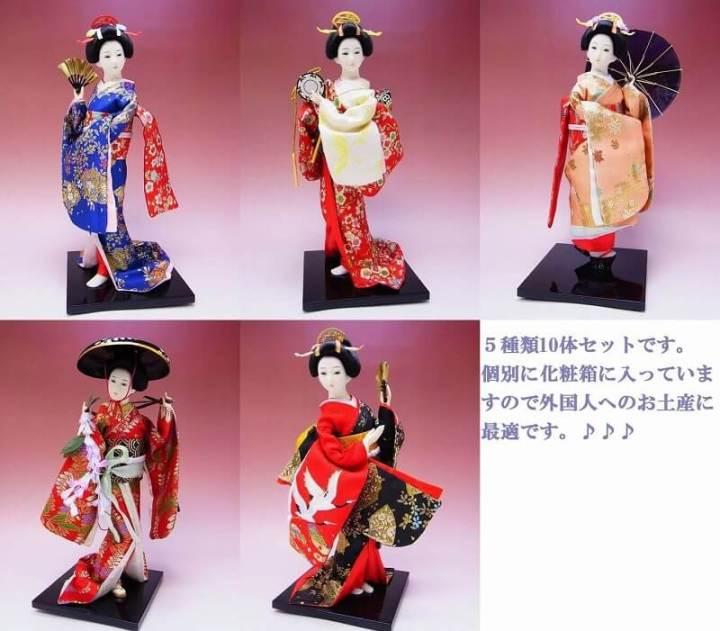 Oleh oleh khas Jepang Geisha