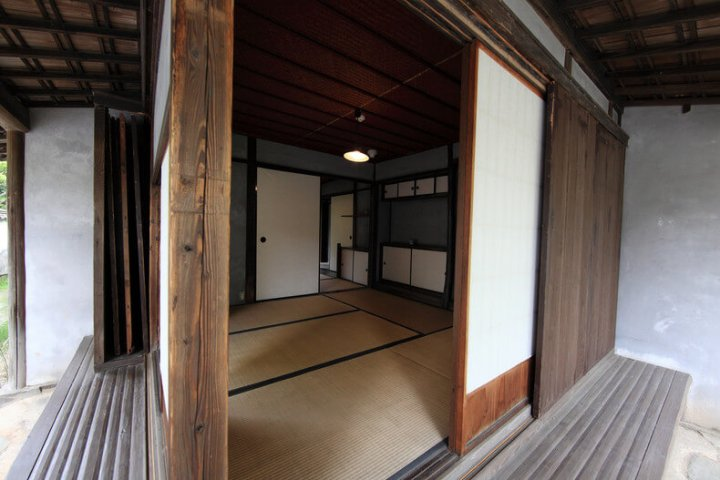 Traditional Japanese House Amado