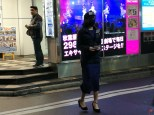 Opération Ninja dans les rues d'Akihabara, fini les Maids place aux Ninjas