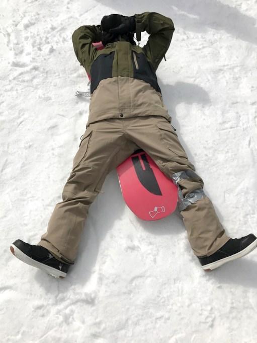 Nagareha banked slalom sleep