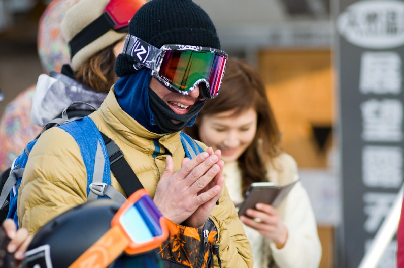 Nagareha banked slalom konishi thanks