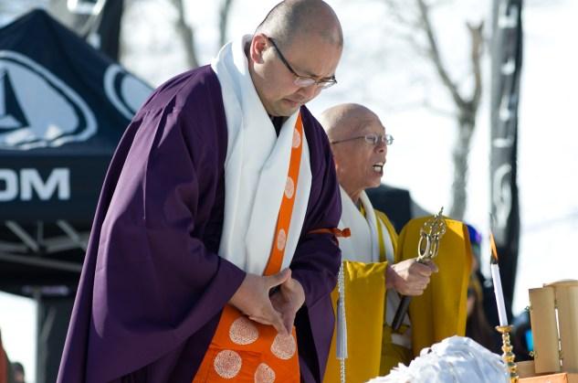 Tenjin Banked Slalom 2017 priests 2