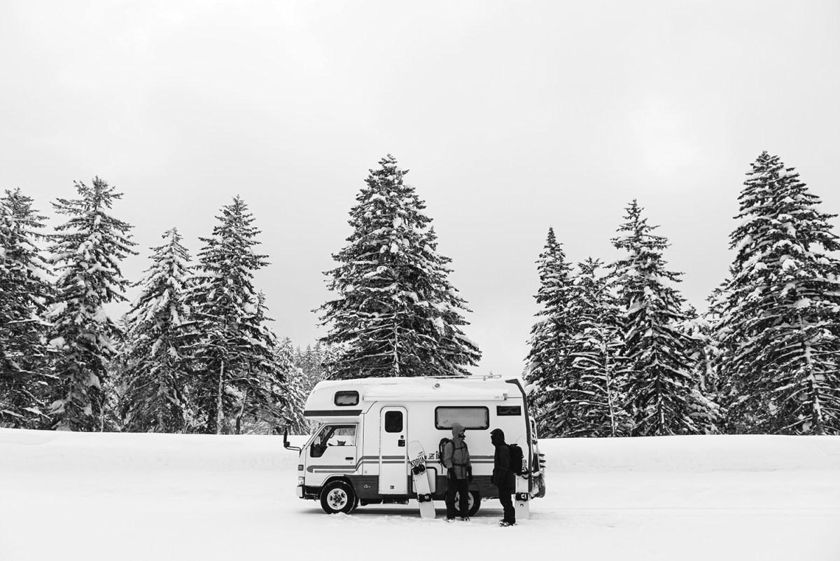 Hokkaido Hustle van