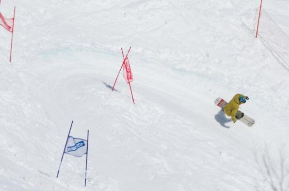 Tenjin Banked Slalom 2017 Go Biyajima race