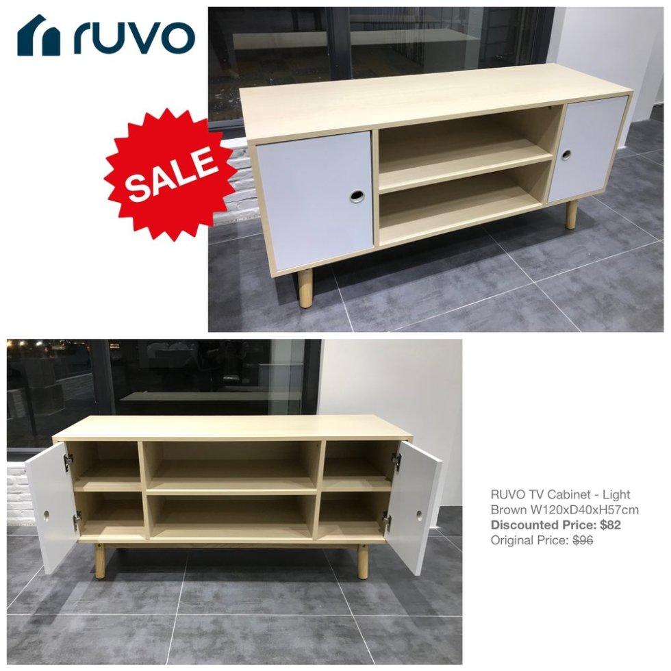 RUVO TV Cabinet - Light Brown_Sale_FB Post_20181004.jpg