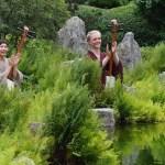 Obon-Fest mit Shamisen-Klängen