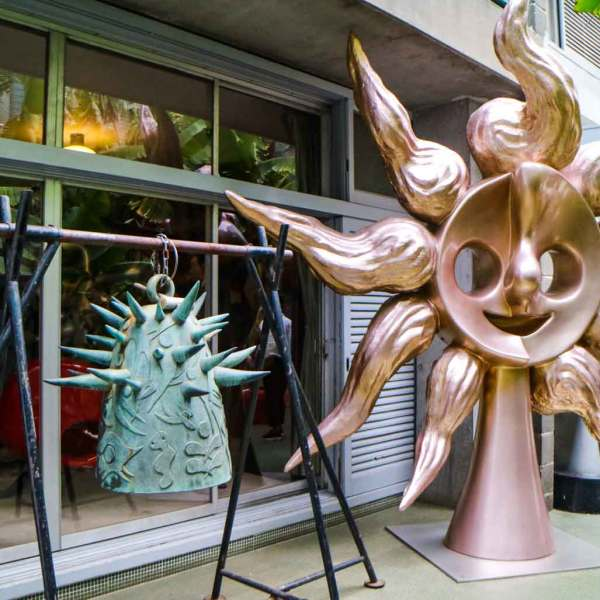 "'Art of the Sun – Tarō Okamoto's Public Art-"" exhibition at Tarō Okamoto Memorial Museum in Tokyo 