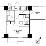 1LDK Apartment Example