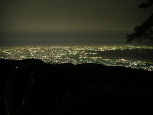 Mount Rokko Night View