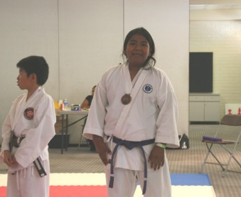 Gensei Ryu 2015 Kumite Eddy Medal