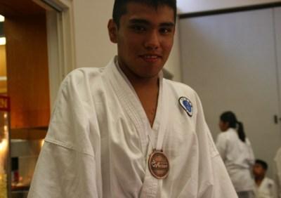 Gensei Ryu 2015 Kumite Enrique Medal