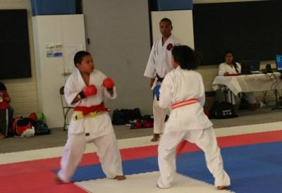 Gensei Ryu 2015 Kumite Leon