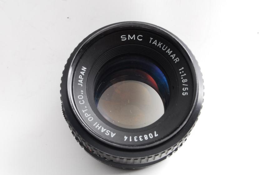 SMC Takumar 55mm F1.8 修理教科書