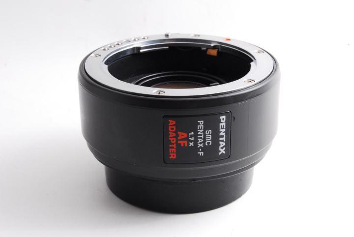 Pentax-F 1.7×AF Adapter