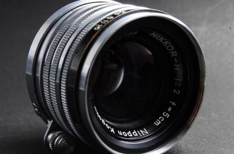 Nippon Kogaku Nikkor-H 50mm F2 Lens Repair Textbook