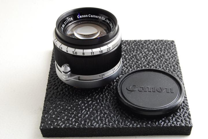 Canon 50mm F1.8 L39(黒鏡胴Ⅰ)