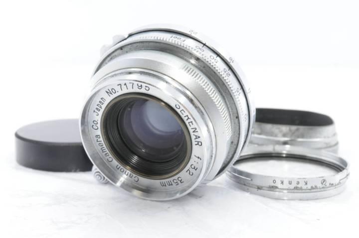 CANON SERSNAR 35mm F3.2 Lマウント