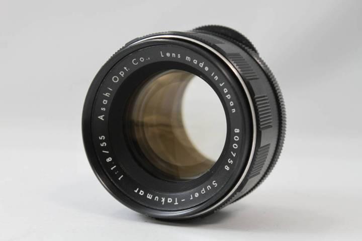 Pentax Super-Takumar 55mm F1.8 初期型 M42マウント