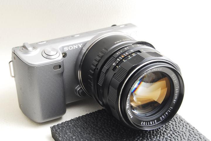 Sony α NEX5+Pentax Super Takumar 50mm F1.4