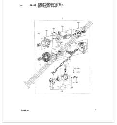 parts for hitachi 4dq7 2 wire alternator diagram alternator with vacuum pump  [ 1200 x 1500 Pixel ]