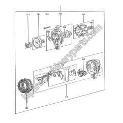 Bosch 24v Alternator Wiring Diagram Ez Go Gas Mitsubishi Parts