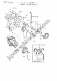 Parts for YANMAR 3TNE82A-YBC,YBD